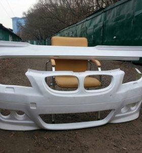 Бампера и пороги на БМВ 525 кузов е60