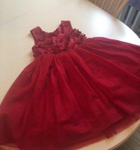 Платье нарядное для девочки р.122