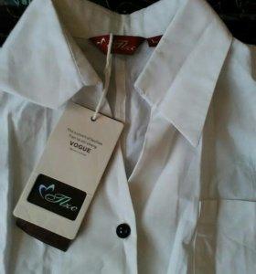 Новая блузка-рубашка