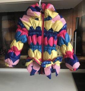 Куртка на девочку 74-80р