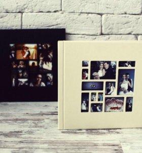 Книга с вашими фотографиями (ручная работа)