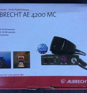 Рация albrecht ae 4200 mc с антенной