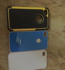 Чехлы на айфоны 4