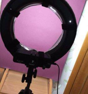 Светодиодное кольцо для визажистов