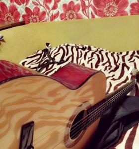 Гитара hohner, новая классическая 6 - струнная
