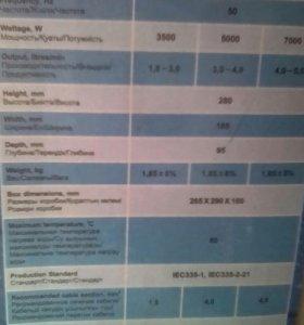 Проточный водонагреватель TEHRMEX500