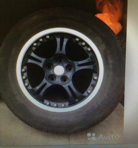 Колеса в сборе tiger summer SUV 215/65/r16
