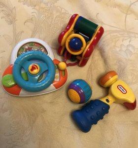 Игрушки в комплекте, можно отдельно