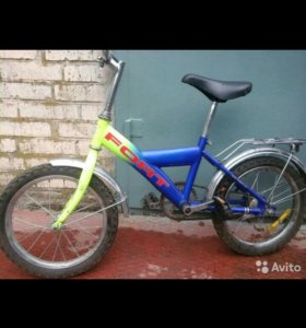 Велосипед детский Fort (торг)