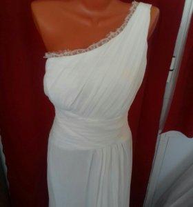 Платье айвори цвета