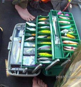 Ящик рыболовный 3х ярусный под все виды снастей
