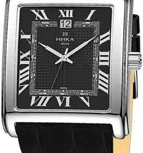 Серебрянные часы Ника