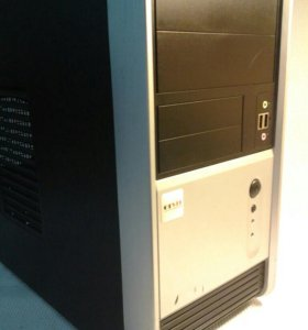 Core2Duo Е8400, 2Gb DDR3, 160Gb HDD.