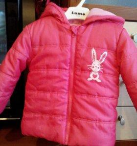 Куртка для девочки детская