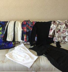 Пакет качественной одежды на даму 46 р-р