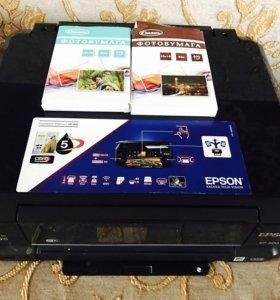 Струйный МФУ принтер EPSON XP-600
