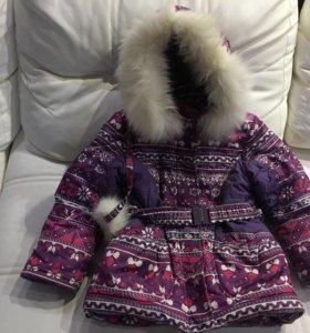 Зимний пуховик детский