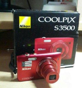 Фотоаппарат 20 мегапикс NICON COOLPIX S 3500