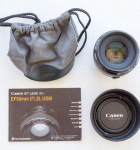 Объектив Canon EF50mm f/1.2L USM