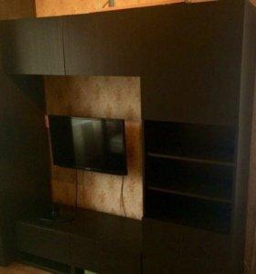 Мебельный гарнитур под тв из Икеа