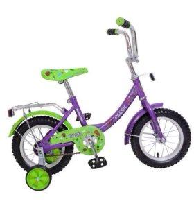 Новый велосипед 12 д.
