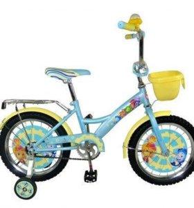 Новый велосипед 18-й диаметр Фиксики