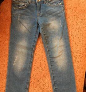 Джинсы Zara на 3-4 года