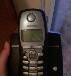 Домашний телефон беспроводной Сименс