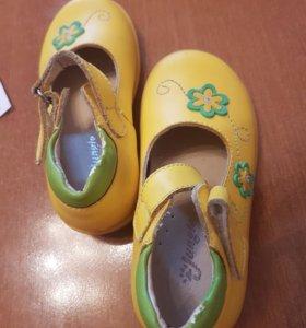 Туфельки для девочки, размер 26