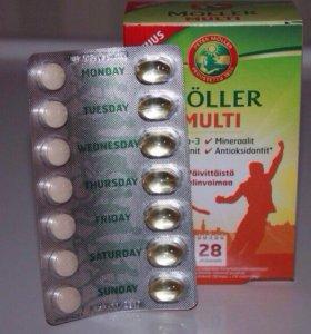 Витамины Möller multi