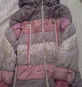 Куртка для девочки. Размер 134