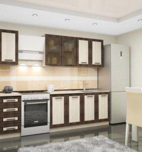 Стильная кухня Контраст 2м