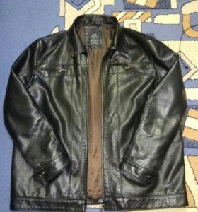 Кожаная куртка.60размер