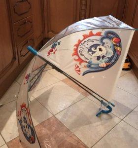 Зонт детский Дельфин. Новый
