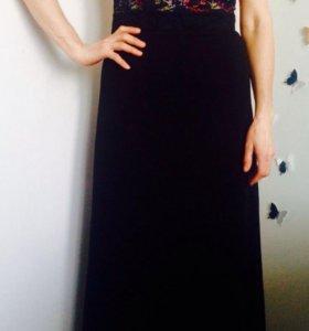 Продам эффектное длинное платье