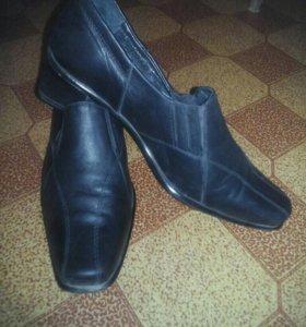 Туфли женские из нат.кожи