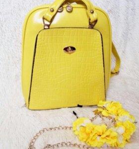Невероятная сумка-рюкзак