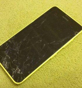 Продам телефон Nokia Lumia 630 Dual SIM жёлтый