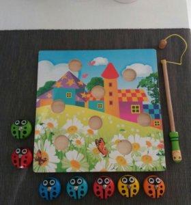 Развивающая игрушка деревянная