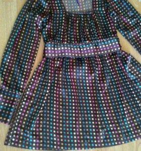 Блуза-туника 42-44