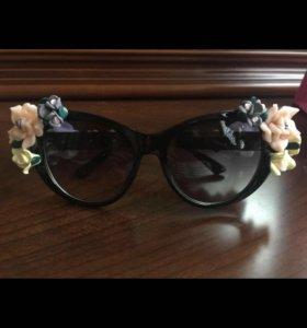 Очки женские солнцезащитные новые