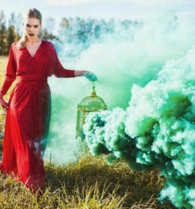 Цветной дым для фотосессий