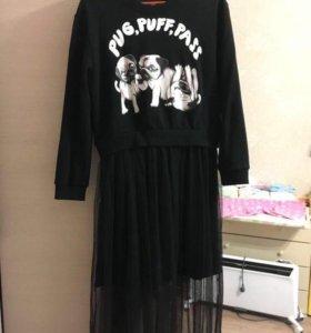Креативное платье