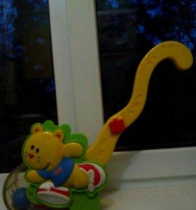 Музыкальная игрушка- каталка. Заходите в профиль