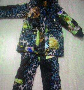Gulliver новый зимний костюм 3-4гг.