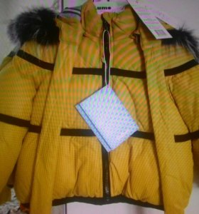 Новая зимняя куртка gulliver р.98