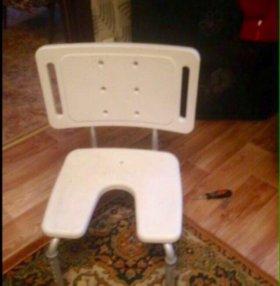 Стул-сиденье инвалидное для мытья в ванной.