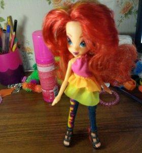 кукла сансэт шимер май пони