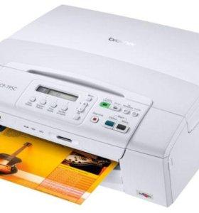 Принтер 3 в 1 brother DCP-195c (на запчасти)