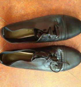 Тамарис ботиночки на шнурках